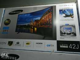 New Box Pack 42 inch Samsung Model J 9000 Slim Led