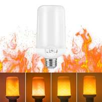 Flame Bulb, LIFU E27 LED Flame Effect Fire Light Bulbs