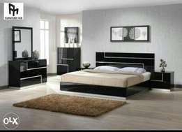 High gloss bed made in good quality material (make on order)