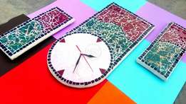 Pure Hand Made Wall Clock Only 6500