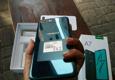 oppo A7 ram 4/64GB kinyis2 Like New NO LECET