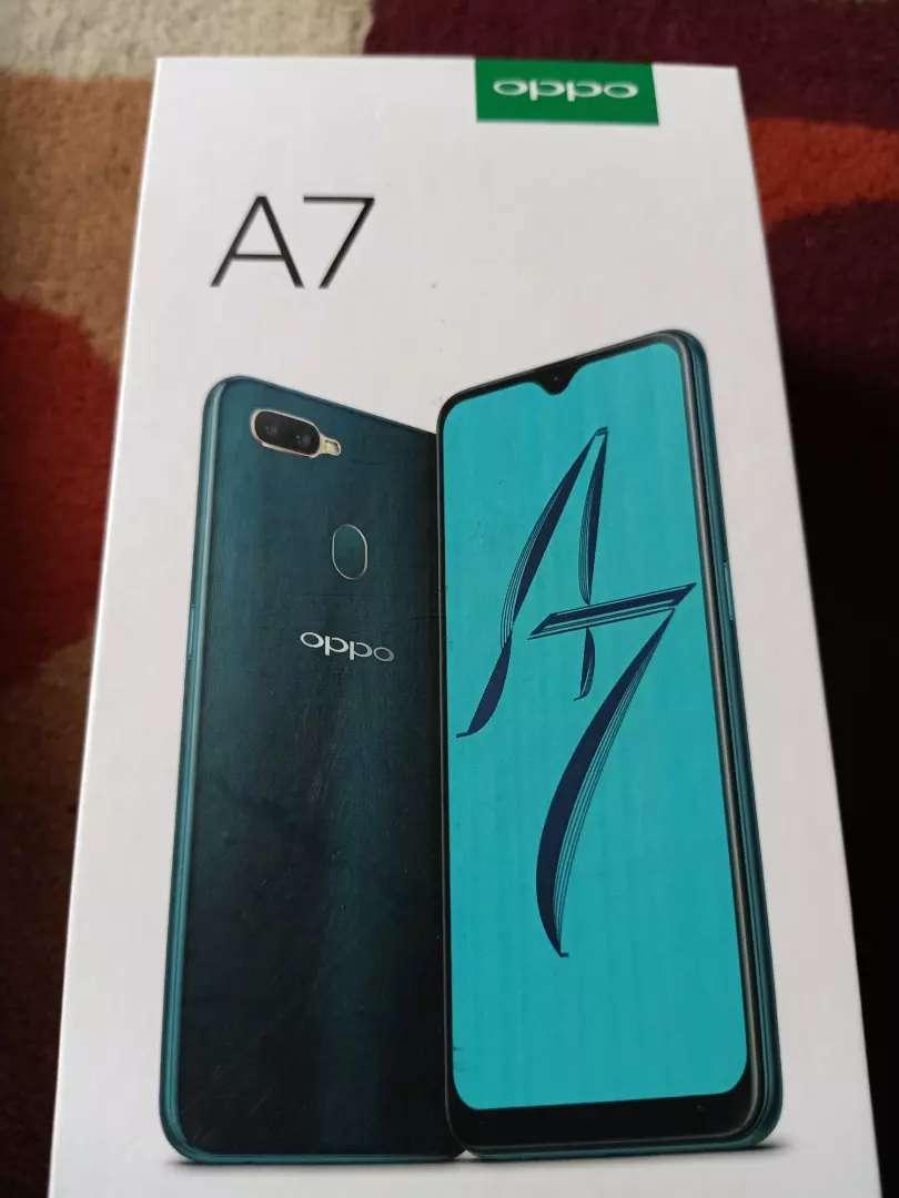 Dijual hp Oppo A7 ram 4/64mulus baru beli komplit - Handphone ...