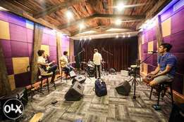 music classes and jamming arena