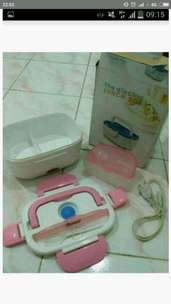 electric lunch box msh bagus mulus