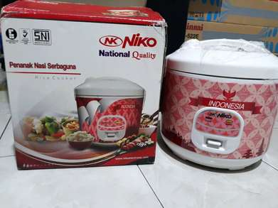 FreeAntar rice cooker niko / magic com nk 18n magicom 1,8liter