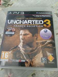 BD game Original PS3 Uncharted 3 Lkp. Bandung