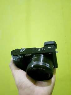sony a6000 mulus. Nego alus