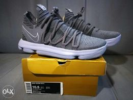 new product 3d6c2 1804d Nike Zoom KD 10 Dark Grey Reflect Silver size 105 US