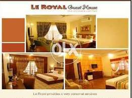 Le Royal Guest House in F-8/4 Islamabad near of centuries shopping mal