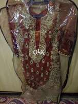 Rizwan mozam dress just few hours used orugnal price 20 000 sell 14000