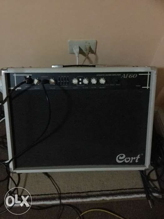 Cort Af60 Acoustic Guitar Amp With Mic Input In Las Pinas Metro