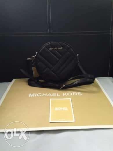 a233cca39dafb7 MK Leather Crossbody Bag in San Jose del Monte, Bulacan | OLX.ph