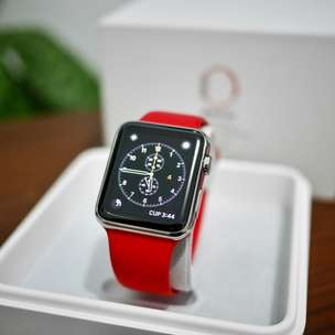 Apple Watch stainless steel 42mm Product Red Edition