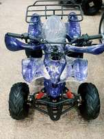 Blue sport cat eye model of QUAD ATV BIKE for sell deliver all pak.