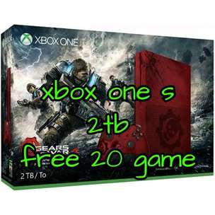 xbox one s 2tb free 20 game bebas request