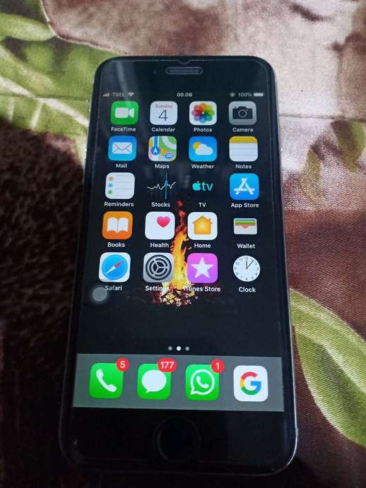 pretty nice 74630 b80f8 Iphone 6 Black 16gb LL/A Silent Normal