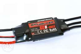 SKYWALKER 60A 2-6S Brushless Speed Controller For Rc plane 60 Amps