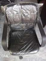Office Chair Low Back Brown (New)
