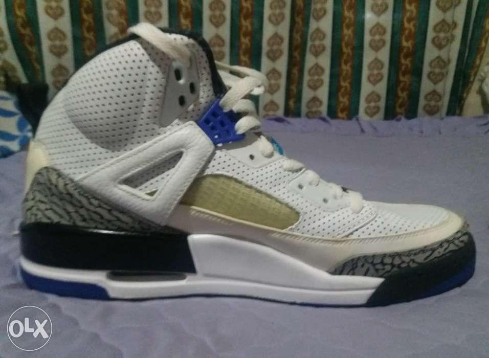 promo code 1c833 94189 Jordan Spizike size 12 blue in Meycauayan City, Bulacan | OLX.ph