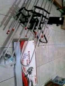 Antena Remote + Power Supply Booster Remote + Kabel Antena