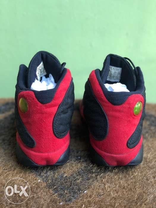 lowest price 64728 52efa ... Nike Air Jordan 13 XIII Retro Black Red BRED 2013 Shoes Sz 105 ...
