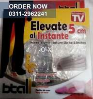 Increase 5CM Height with B-Tall Insole - Buy Now!