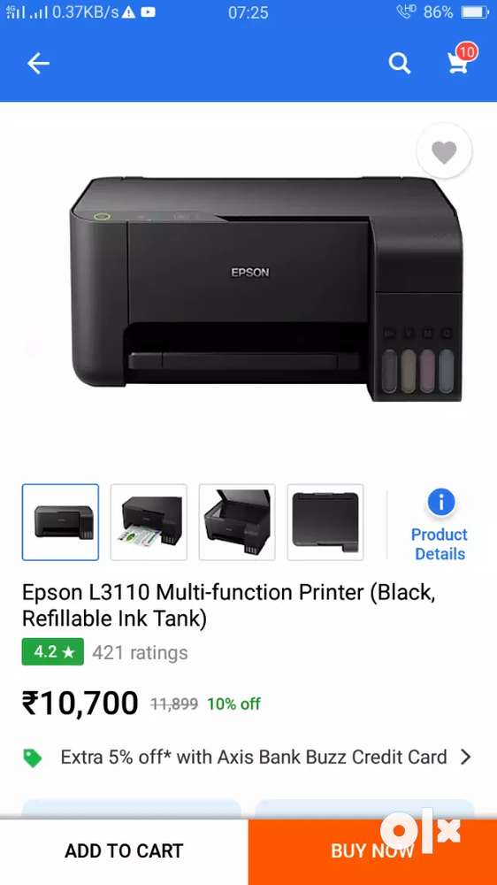 How To Refill Epson L3110