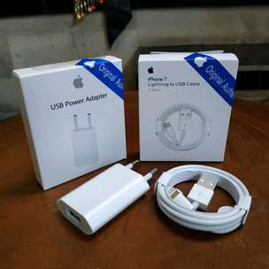 Kabel Lightning dan Charger iPhone Original