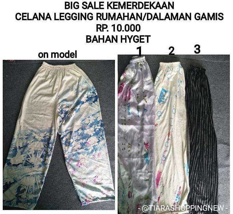 Celana Harian Rumah Atau Celana Dalaman Gamis Fashion Wanita 801667349
