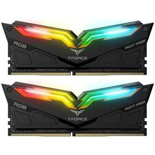 RAM PC T-Force Night Hawk DDR4 3000Mhz 16GB (2X8GB) RGB | By Astikom