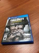 CALL OF DUTY WORLD WAR 2 region all brand new scratchless