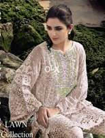 Maria B Latest Embroidered Lawn Collection Shirt Replica