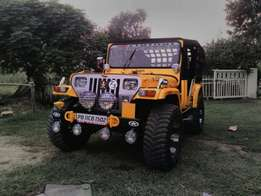 Yellow colour Modal Jeep AC Jeep with Turbo