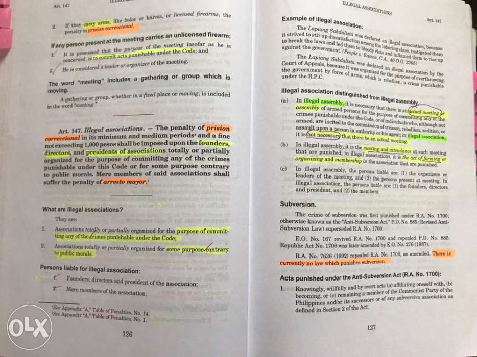 Revised Penal Code Book 1 By Luis Reyes