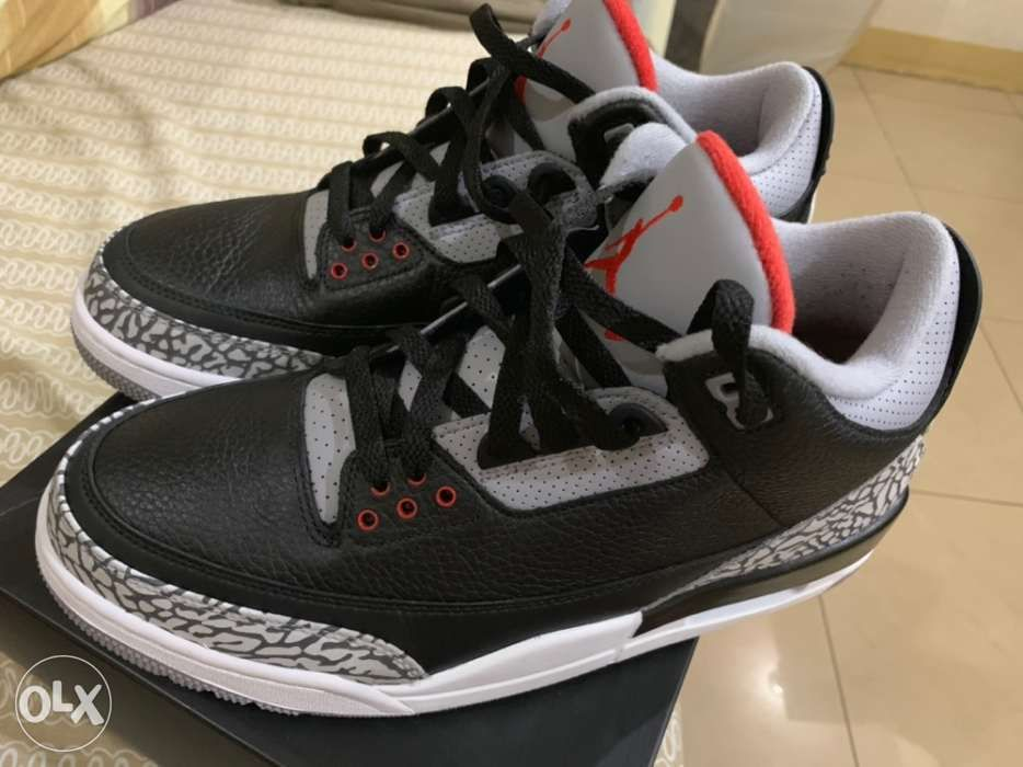 444f3205c59fd8 jordan 3 black cement 3 in Manila