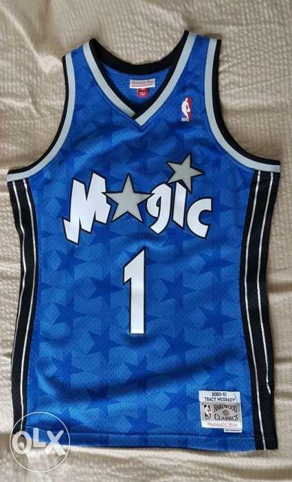 huge selection of 64899 7e6a0 Mitchell and Ness Orlando Magic Tracy McGrady Swingman NBA ...