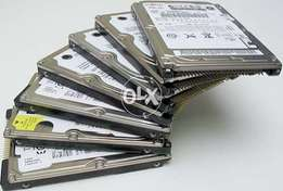 Lapt0ps Hard Drives 250/320/500/640/750/1tb