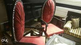 Bedrooms chairs pair fine finish