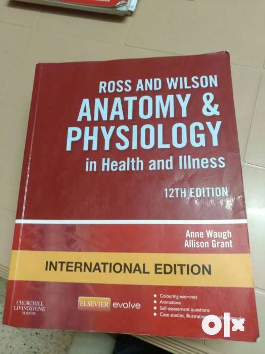 Anatomy and Physiology by Ross and Wilson - Bengaluru - Books ...