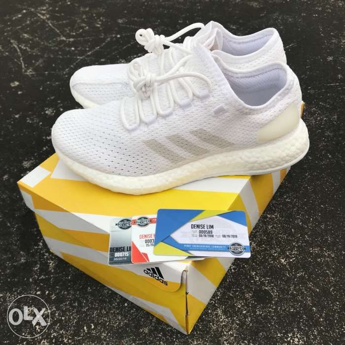 b70ae2633b4 Adidas Pureboost Clima Triple White not Yeezy Ultraboost Nike in ...