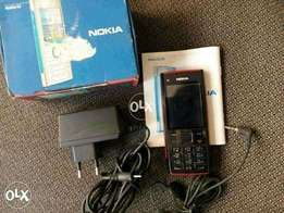 nokia x2 impot dubai 5mp camera with flash light with all acceaaories