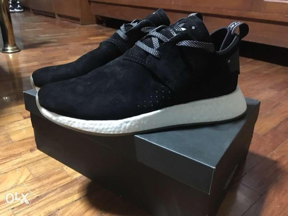 7dfb8654c Adidas Originals NMD C2 Black Leather Suede size 10 5 in Quezon City ...