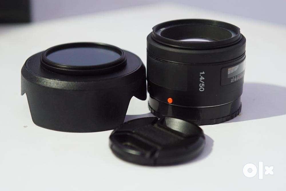 Sony 50 f1.4 full frame lens A-mount - Hyderabad - Electronics ...