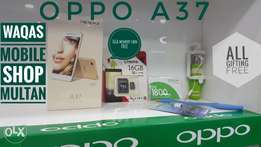 OPPO a37 box back with gifting free