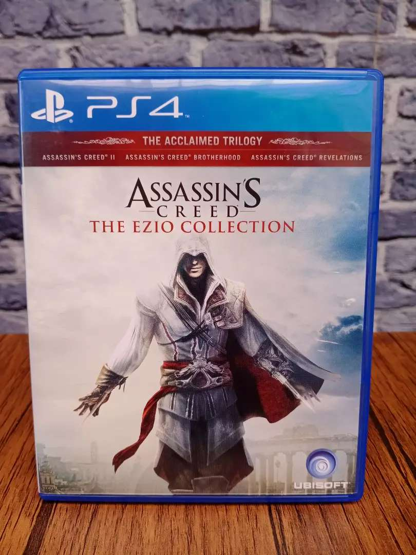 Bd Ps4 Assassins Creed The Ezio Collection 3in1 Game Cd Kaset