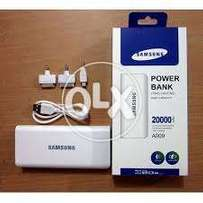 Pack of new Samsung power bank in 20,000 mah