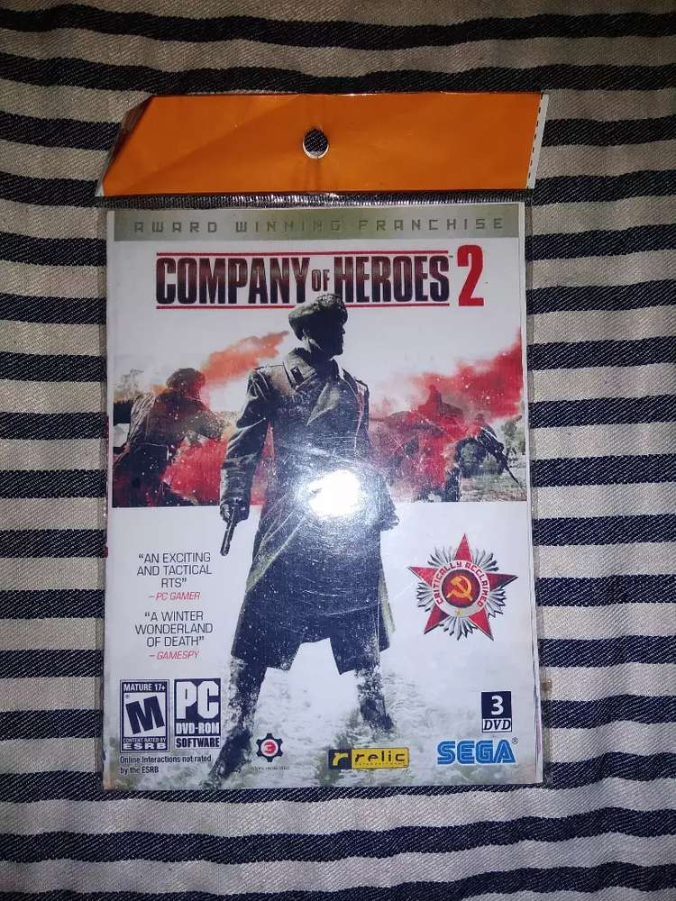 Kaset Game Company Of Heroes 2 Pc Dvd Games Console 793231771