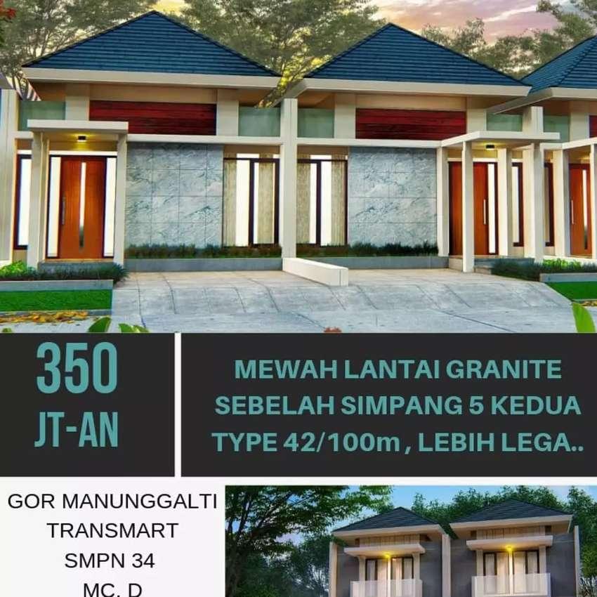Rumah Minimalis Atap Limasan Desain Modern Graha Aryamukti