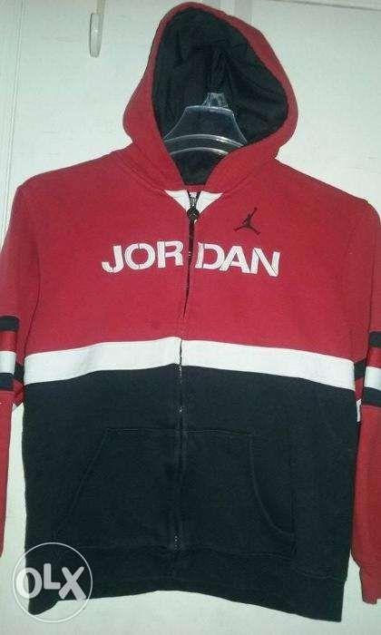 7f763b6f948b Air Jordan (Original) Boys Hoodie Size L (12-14) Red black white in ...