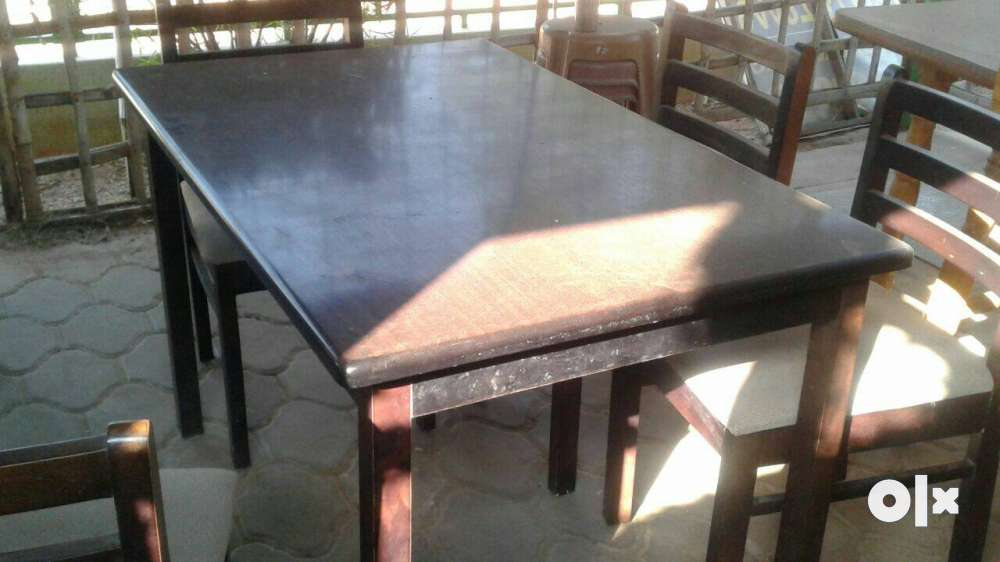 Restaurant Dinning Table Set With 4 Chair For Pollachi  : images1000x700inslot4filenameypz4ui8l8g3f1 IN from www.olx.in size 1000 x 562 jpeg 48kB